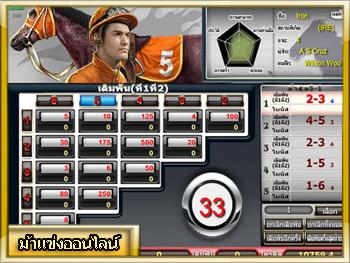 เกมม้าแข่งออนไลน์ Royal Ruby888