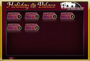 table Holiday Palace