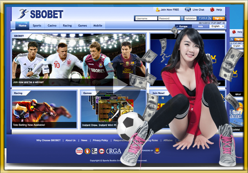 Convenience to sign up gambling soccer online